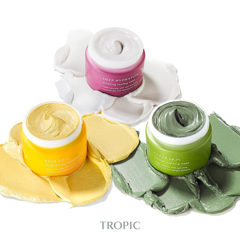 small beauty product containers